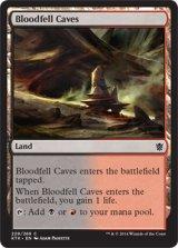 血溜まりの洞窟/Bloodfell Caves 【英語版】 [KTK-土地C]《状態:NM》