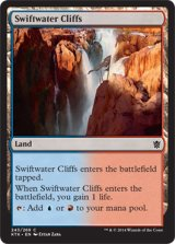 急流の崖/Swiftwater Cliffs 【英語版】 [KTK-土地C]《状態:NM》