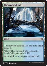 茨森の滝/Thornwood Falls 【英語版】 [KTK-土地C]《状態:NM》