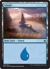 島/Island No.254 【英語版】 [KTK-土地]《状態:NM》