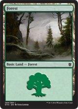 森/Forest No.268 【英語版】 [KTK-土地]《状態:NM》