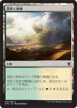 花咲く砂地/Blossoming Sands 【日本語版】 [KTK-土地C]