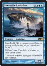 嵐潮のリバイアサン/Stormtide Leviathan 【英語版】 [M11-青R]