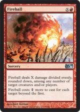 火の玉/Fireball 【英語版】 [M11-赤U]《状態:NM》