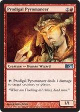 放蕩紅蓮術士/Prodigal Pyromancer 【英語版】 [M11-赤U]《状態:NM》