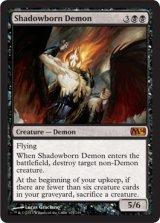 影生まれの悪魔/Shadowborn Demon 【英語版】 [M14-黒MR]
