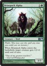 茨群れの頭目/Briarpack Alpha 【英語版】 [M14-緑U]
