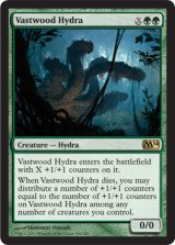 巨森のハイドラ/Vastwood Hydra 【英語版】 [M14-緑R]《状態:NM》