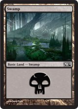 沼/Swamp No.240 【英語版】 [M14-土地]《状態:NM》