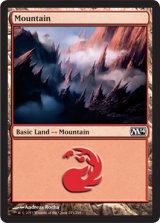 山/Mountain No.245 【英語版】 [M14-土地]《状態:NM》