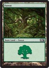 森/Forest No.246 【英語版】 [M14-土地]