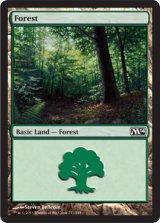 森/Forest No.247 【英語版】 [M14-土地]