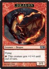 ドラゴン/DRAGON 【日本語版】 [M14-トークン]《状態:NM》