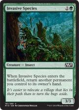 侵入する生物種/Invasive Species 【英語版】 [M15-緑C]