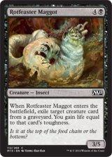 腐敗喰いの蛆/Rotfeaster Maggot 【英語版】 [M15-黒C]
