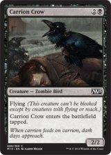 屍食いカラス/Carrion Crow 【英語版】 [M15-黒C]