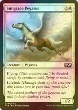 [FOIL] 天麗のペガサス/Sungrace Pegasus 【英語版】 [M15-白C]