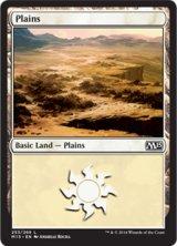 平地/Plains No.253 【英語版】 [M15-土地]《状態:NM》