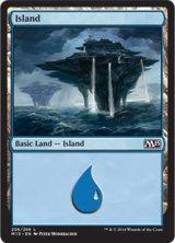 島/Island No.256 【英語版】 [M15-土地]《状態:NM》