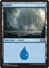 島/Island No.254 【英語版】 [M15-土地]《状態:NM》