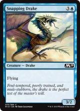 噛みつきドレイク/Snapping Drake 【英語版】 [M19-青C]