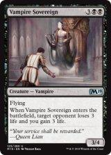 吸血鬼の君主/Vampire Sovereign 【英語版】 [M19-黒U]