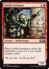 ゴブリンの扇動者/Goblin Instigator 【英語版】 [M19-赤C]