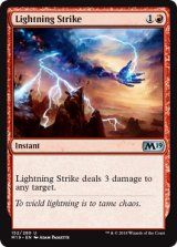 稲妻の一撃/Lightning Strike 【英語版】 [M19-赤U]