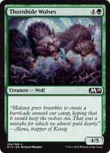茨隠れの狼/Thornhide Wolves 【英語版】 [M19-緑C]