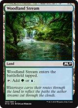 森林地の小川/Woodland Stream 【英語版】 [M19-土地C]《状態:NM》