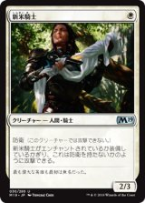 新米騎士/Novice Knight 【日本語版】 [M19-白U]