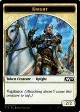 騎士/Knight 【英語版】 [M19-トークン]