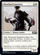 ムーアランドの審問官/Moorland Inquisitor 【英語版】 [M20-白C]