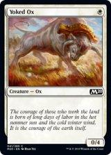 鋤引きの雄牛/Yoked Ox 【英語版】 [M20-白C]