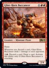 光り角の海賊/Glint-Horn Buccaneer 【英語版】 [M20-赤R]《状態:NM》