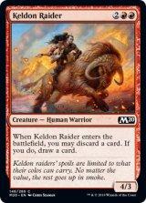 ケルドの略奪者/Keldon Raider 【英語版】 [M20-赤C]