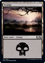 沼/Swamp No.271 【英語版】 [M20-土地C]