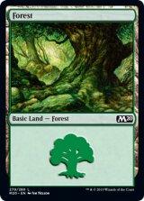 森/Forest No.279 【英語版】 [M20-土地C]