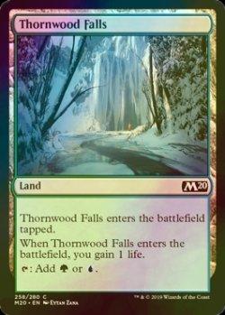 画像1: [FOIL] 茨森の滝/Thornwood Falls 【英語版】 [M20-土地C]