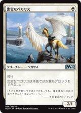 忠実なペガサス/Loyal Pegasus 【日本語版】 [M20-白U]《状態:NM》