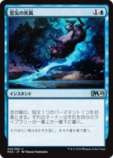 霊気の疾風/Aether Gust 【日本語版】 [M20-青U]