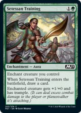 セテッサ式訓練/Setessan Training 【英語版】 [M21-緑C]《状態:NM》