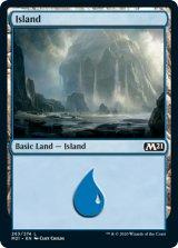 島/Island No.263 【英語版】 [M21-土地C]《状態:NM》