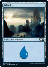 島/Island No.264 【英語版】 [M21-土地C]《状態:NM》