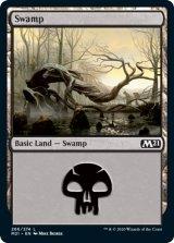 沼/Swamp No.266 【英語版】 [M21-土地C]《状態:NM》