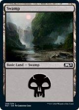 沼/Swamp No.268 【英語版】 [M21-土地C]《状態:NM》