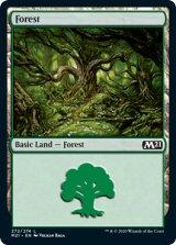 森/Forest No.272 【英語版】 [M21-土地C]《状態:NM》