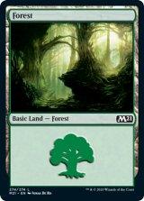 森/Forest No.274 【英語版】 [M21-土地C]《状態:NM》