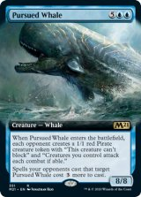 追われる鯨/Pursued Whale (拡張アート版) 【英語版】 [M21-青R]《状態:NM》