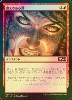 画像1: [FOIL] 燃えさかる炎/Burn Bright 【日本語版】 [M21-赤C]